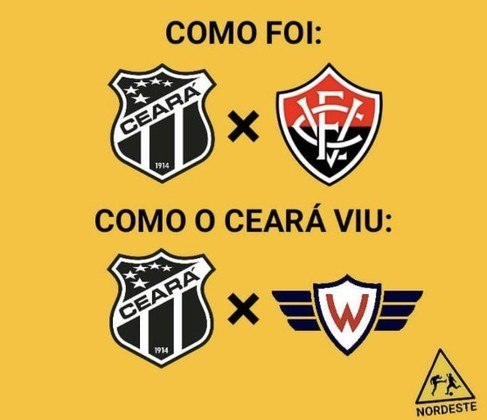 Copa do Nordeste: os memes de Ceará 2 x 0 Vitória
