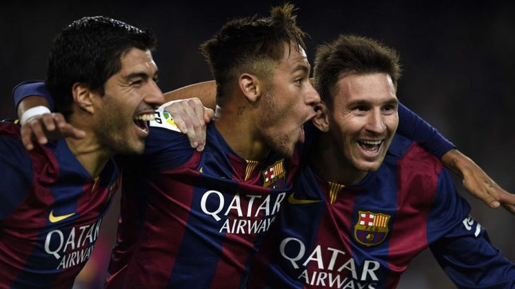 COPA DO REI 2014-15 - Em jogo único, o Barcelona venceu por 3 a 1 o Atlético de Bilbao, com dois gols de Messi e um de Neymar.