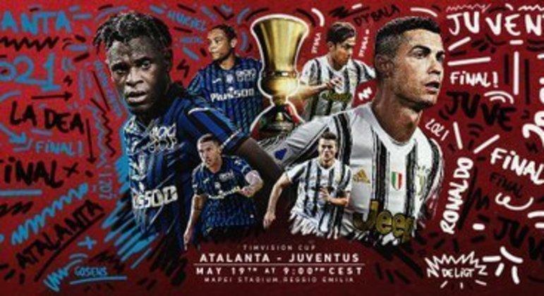 Copa Itália, ainda um título em disputa entre a Atalanta e a Juventus