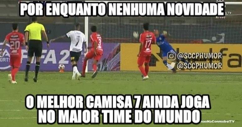 Copa Sul-Americana: Luan ganha memes após marcar dois gols na vitória do Corinthians sobre o Sport Huancayo
