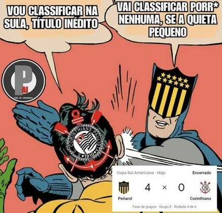 Copa Sul-Americana: os melhores memes da derrota e eliminação do Corinthians para o Peñarol