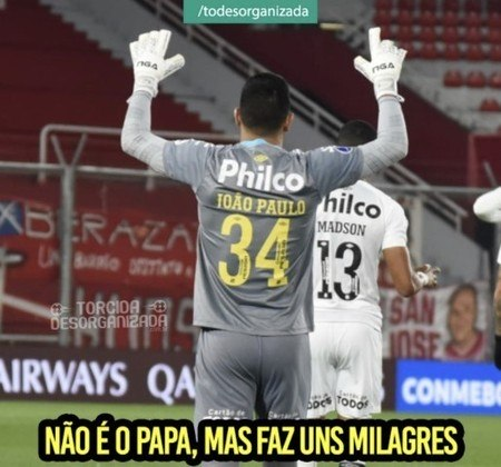 Copa Sul-Americana: os memes da classificação do Santos diante do Independiente