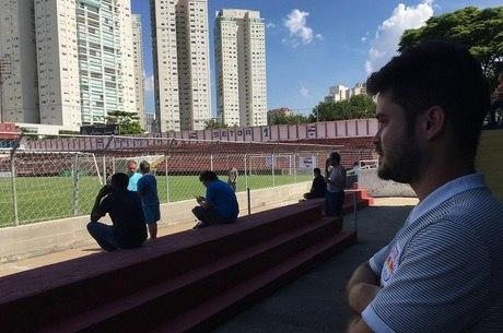 Observador do Red Bull, Rafael vai uniformizado aos jogos