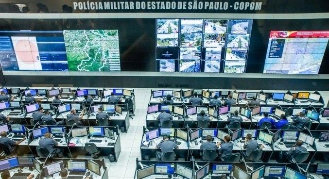 Centro de Operações da PM recebe milhares de ligações de ocorrências no estado
