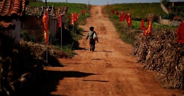 Coreia do Norte sofre com pior seca em 37 anos