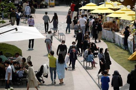 Coreia do Sul alivia medidas de distanciamento social
