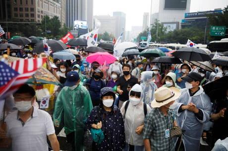 Coreia do Sul tem novo surto de coronavírus
