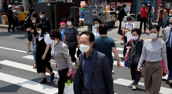 Coreia do Sul enfrenta segunda onda de infecções pelo novo coronavírus