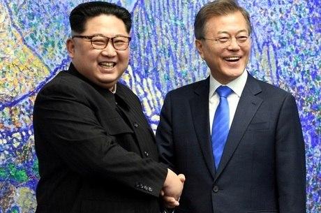 Líderes das Coreias prometeram a reunificação