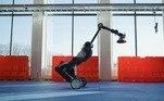 Já o Handlefoi pensado para mover caixas em armazéns e fazer descarregamento de caminhões. O robô é capaz de mover até 360 caixas por hora, alcançar até 3m de altura e carregar até 15kg
