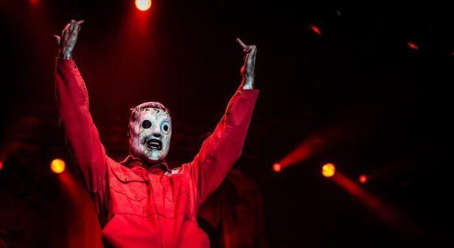 Corey Taylor com o Slipknot