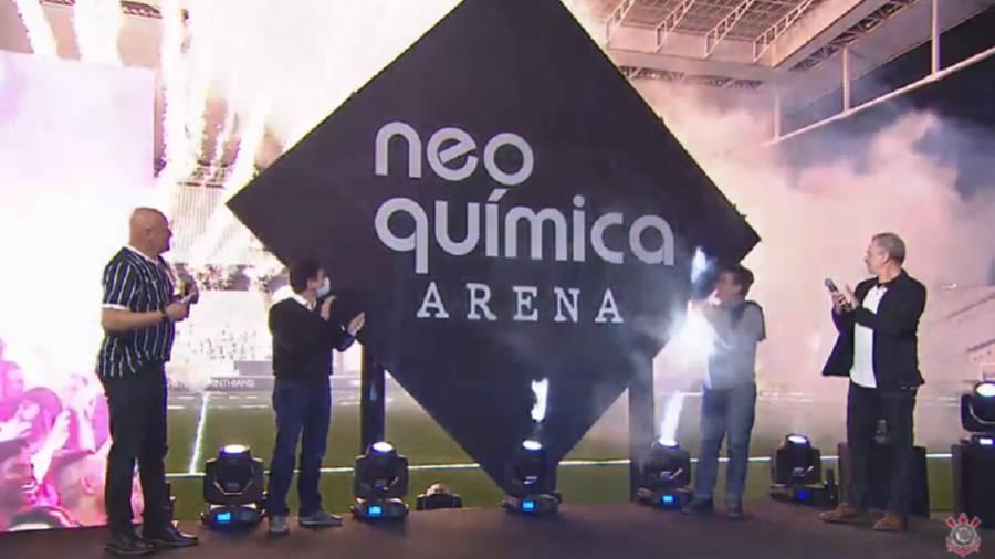 Corinthians receberá R$ 300 milhões pelos naming rights. Promessa cumprida