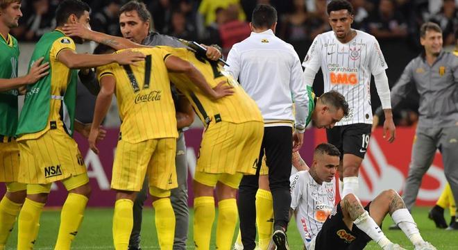 Executivos da Globo não sonhavam com a eliminação do Corinthians