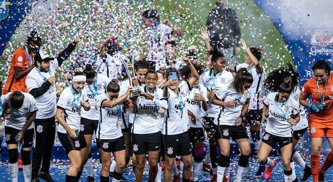Corinthians conquistou título com melhor campanha da história da competição