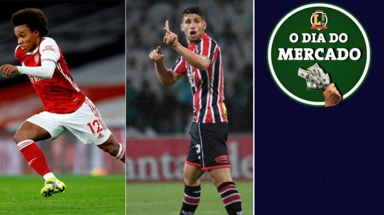 Corinthians e Willian estão próximos da assinatura do contrato para fechar a chegada do meia. São Paulo volta a negociar com Calleri para um retorno do argentino. Real Madrid corre contra o tempo para contratar Mbappé. Tudo isso e muito mais no fim de semana do Mercado.