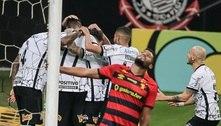 Jô marca, encerra polêmica e Corinthians vence o Sport por 2 a 1
