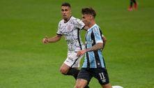 Corinthians vence fora e mantém o Grêmio na zona de rebaixamento