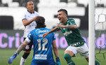 Corinthians 0 x 2 Palmeiras (2020) - A última eliminação foi diante do maior rival, o Palmeiras. O time do até então técnico Vagner Mancini, demitido após a derrota, foi superado durante a partida e perdeu por 2 a 0 na semifinal do Campeonato Paulista