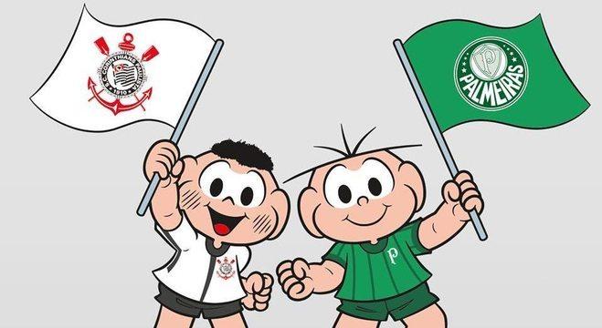 Corinthians X Palmeiras, a paz dos portões fechados