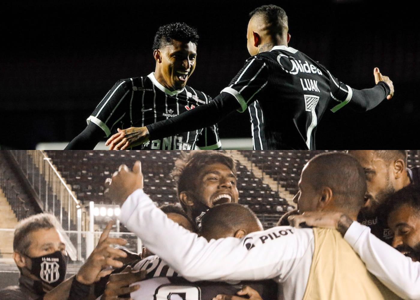 Corinthians e Ponte são os melhores times do Paulistão no momento