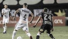 Contas em dia ou time competitivo? Corinthians e Santos vivem dilema