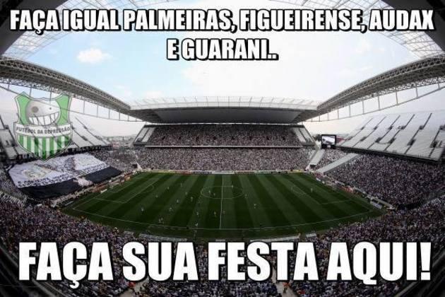 Corinthians x Audax - Semifinal do Campeonato Paulista de 2016 (23/04/2016). As equipes empataram por 2 a 2 (com direito a gol de Tchê Tchê) e a decisão ficou para os pênaltis. Fagner e Rodriguinho desperdiçaram as cobranças e mais uma eliminação do Timão em Itaquera