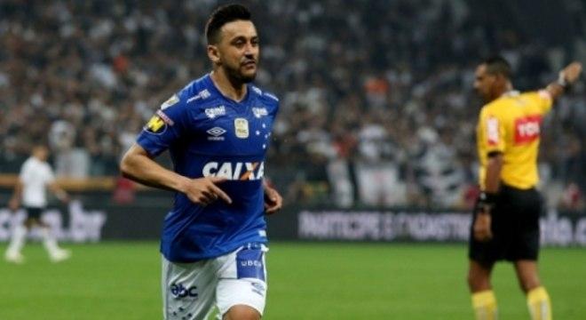 Corinthians x Cruzeiro - Robinho