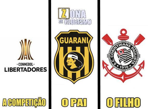 Corinthians x Guaraní-PAR - Pré-Libertadores de 2020 (12/02/2020). Mesmo com a vitória por 2 a 1 na Arena, o Corinthians foi eliminado pelo critério do gol fora de casa (a partida de ida havia sido 1 a 0 para a equipe paraguaia)
