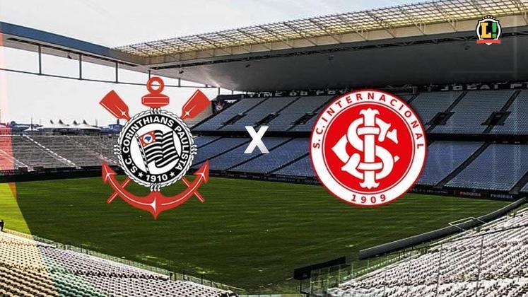 Corinthians x Internacional - Estádio: Neo Química Arena - Dia 03/07/2021 - Horário: 21h - Transmissão: Sportv e Premiere