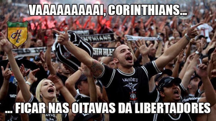 Corinthians x Nacional-PAR - Oitavas de final da Copa Libertadores de 2016 (04/05/2016). Após empatar por 0 a 0 no Uruguai, o Corinthians não conseguiu vencer e empatou com o Nacional por 2 a 2. Os dois gols marcados em Itaquera deram a vaga para a equipe uruguaia