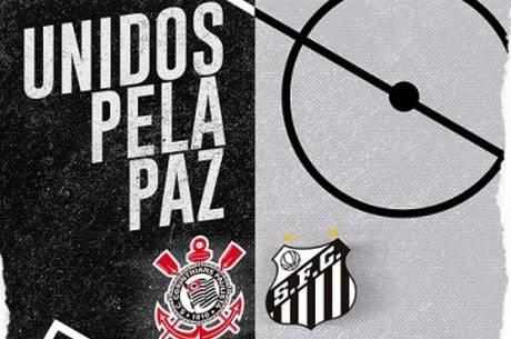 Corinthians e Santos farão ação contra a violência no futebol