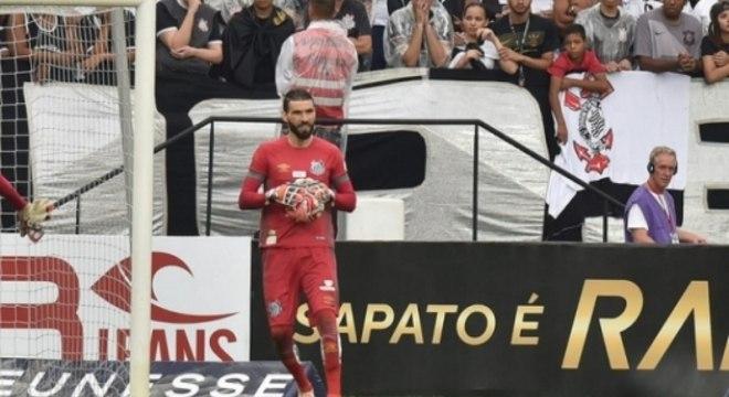 Corinthians x Santos - Vanderlei
