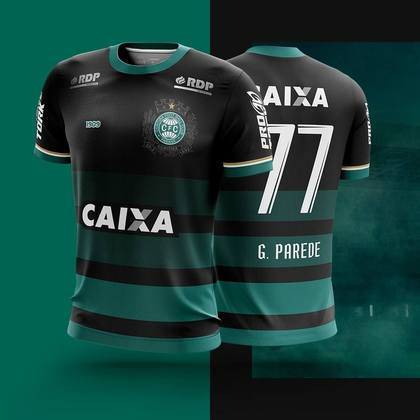 CORITIBA: Em 2018, o Coritiba cravou seu uniforme 3 com base em desenho feito por um torcedor. Ele venceu um concurso promovido pelo clube, anunciado pelo site oficial. Foi uma das iniciativas para comemorar o aniversário de 109 anos do clube.