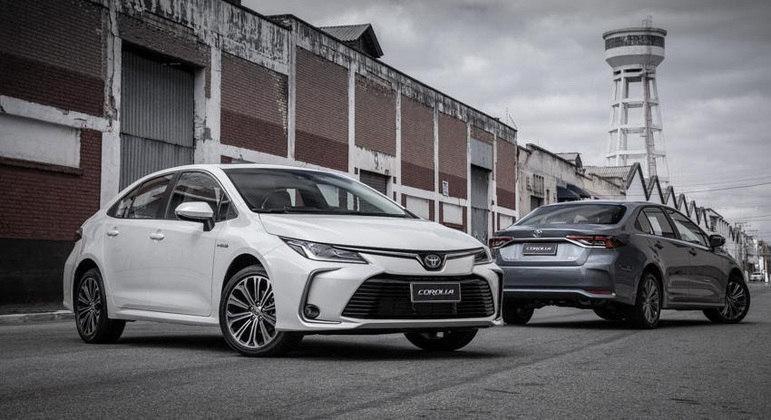 Toyota Corolla recebe novo aumento na linha 2022
