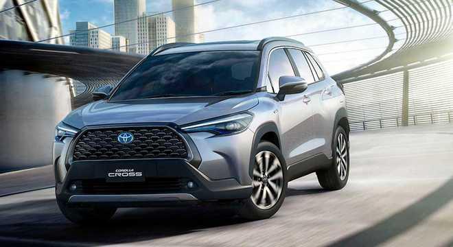 A Toyota prepara para 2021 um novo SUV para enfrentar o Jeep Compass, líder do segmento dos SUVs médios
