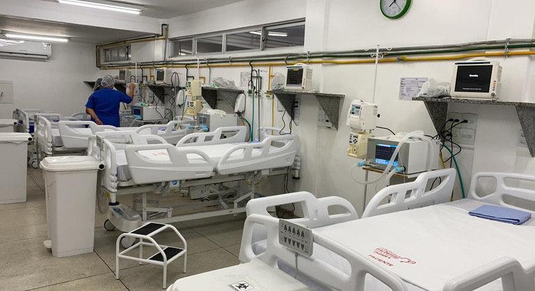 Coronaírus, Leitos, Hospital