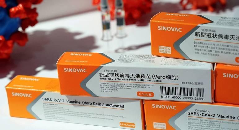 Vacina da Sinovac é uma das que estão sendo usadas na campanha de imunização chilena