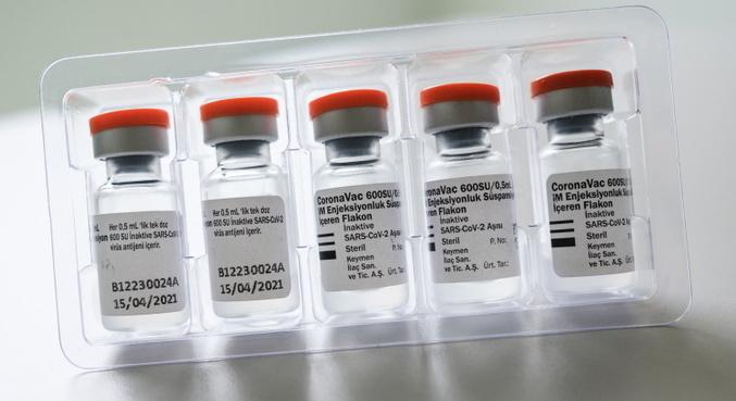 Estudo chileno sugere terceira dose de CoronaVac para combater Delta