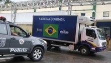 SP começa a distribuir 2º lote de vacinas do Butantan para o Brasil