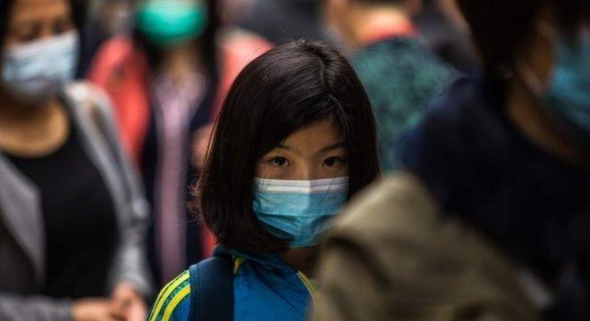Preocupação com o coronavírus se espalhou por todo o mundo