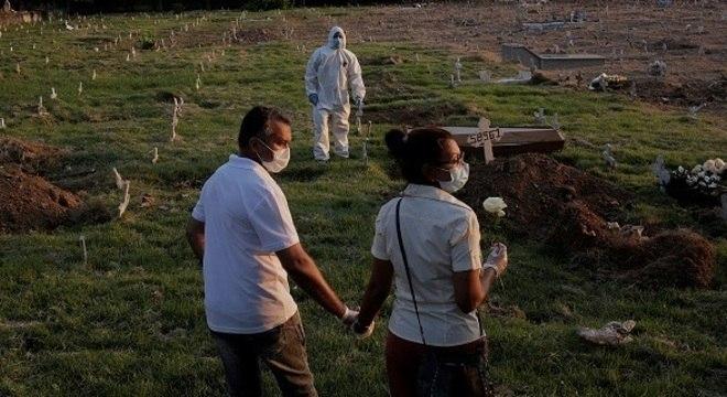 País é segundo em número de mortes por covid-19 em todo o mundo