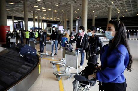 Turismo internacional tem queda no 1º trimestre