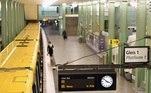 Estação de trem vazia em Berlin