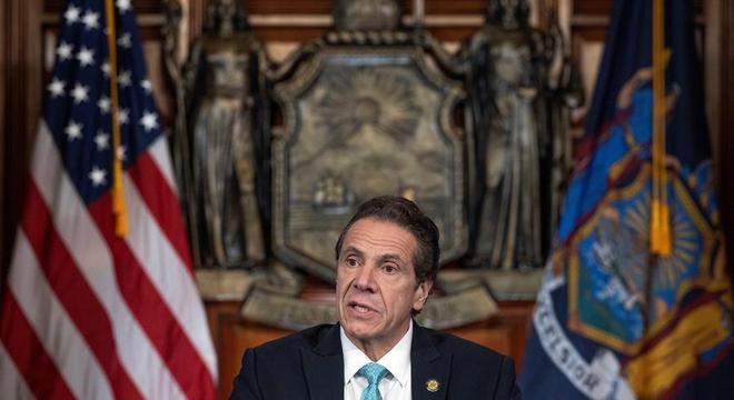 Governador de Nova York Andrew Cuomo divulga novo balanço do coronavírus