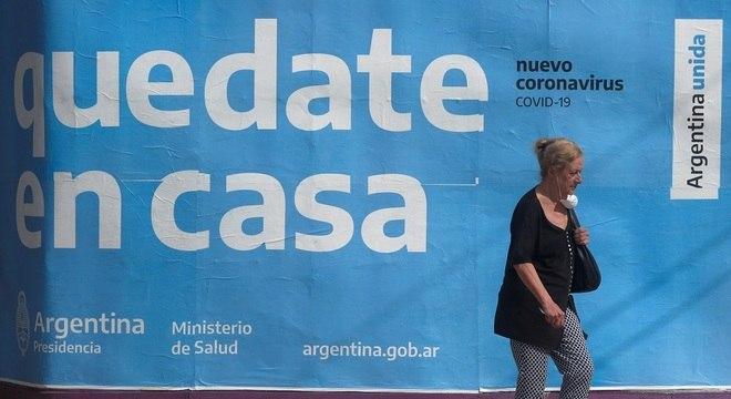 Argentina tem menos de 2.000 casos confirmados de coronavírus
