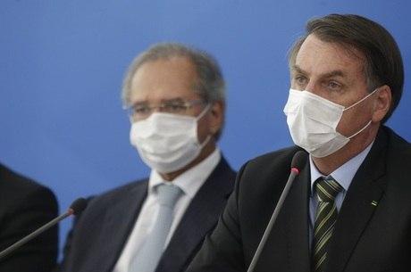 Bolsonaro e Guedes discutem prorrogação do auxílio emergencial