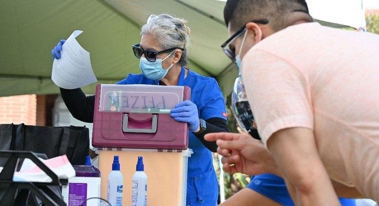 Cerca de 2/3 das crianças com mais de 12 anos da Califórnia já foram vacinadas