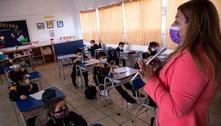 Professores pedem suspensão de aulas por contágios no Chile