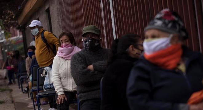 Chile já tem o oitavo maior número de casos de covid-19 no mundo