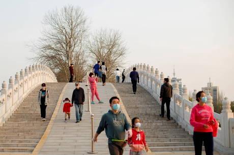 Mercado chinês se adapta a quarentena e pandemia
